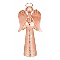 Rose Gold Angel Bell