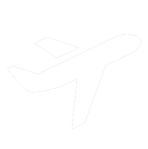 white illustrated plane