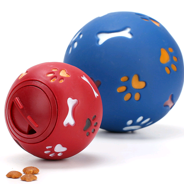 Multicolor Rotating Rubber Ball