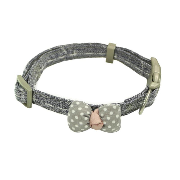 Cat Collar with Bow Tie