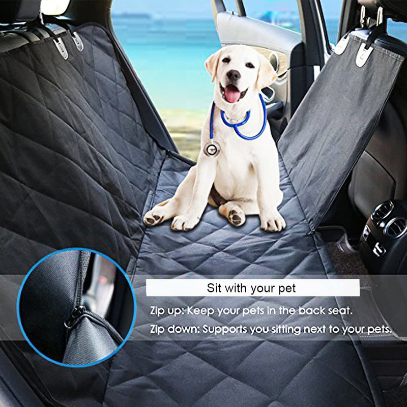 Waterproof Back Seat Car Cover for Pets