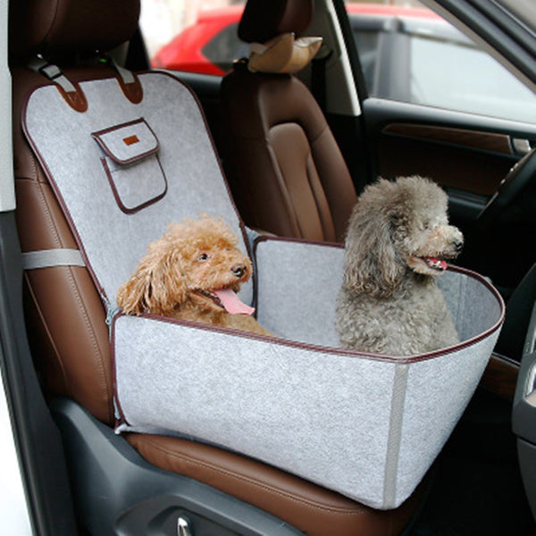 Reversible Pet Car Seat Cover