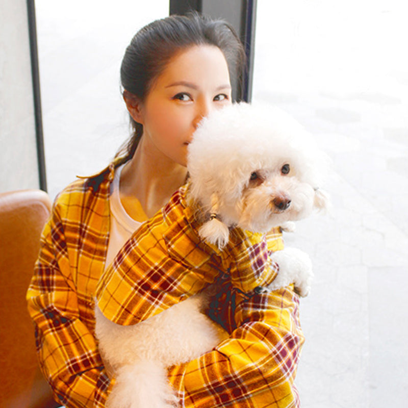 Match-up Plaid Shirts for Pups