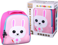 Load image into Gallery viewer, Pink Cute School Bag Kindergarten Backpack Animal Neoprene Multicolor