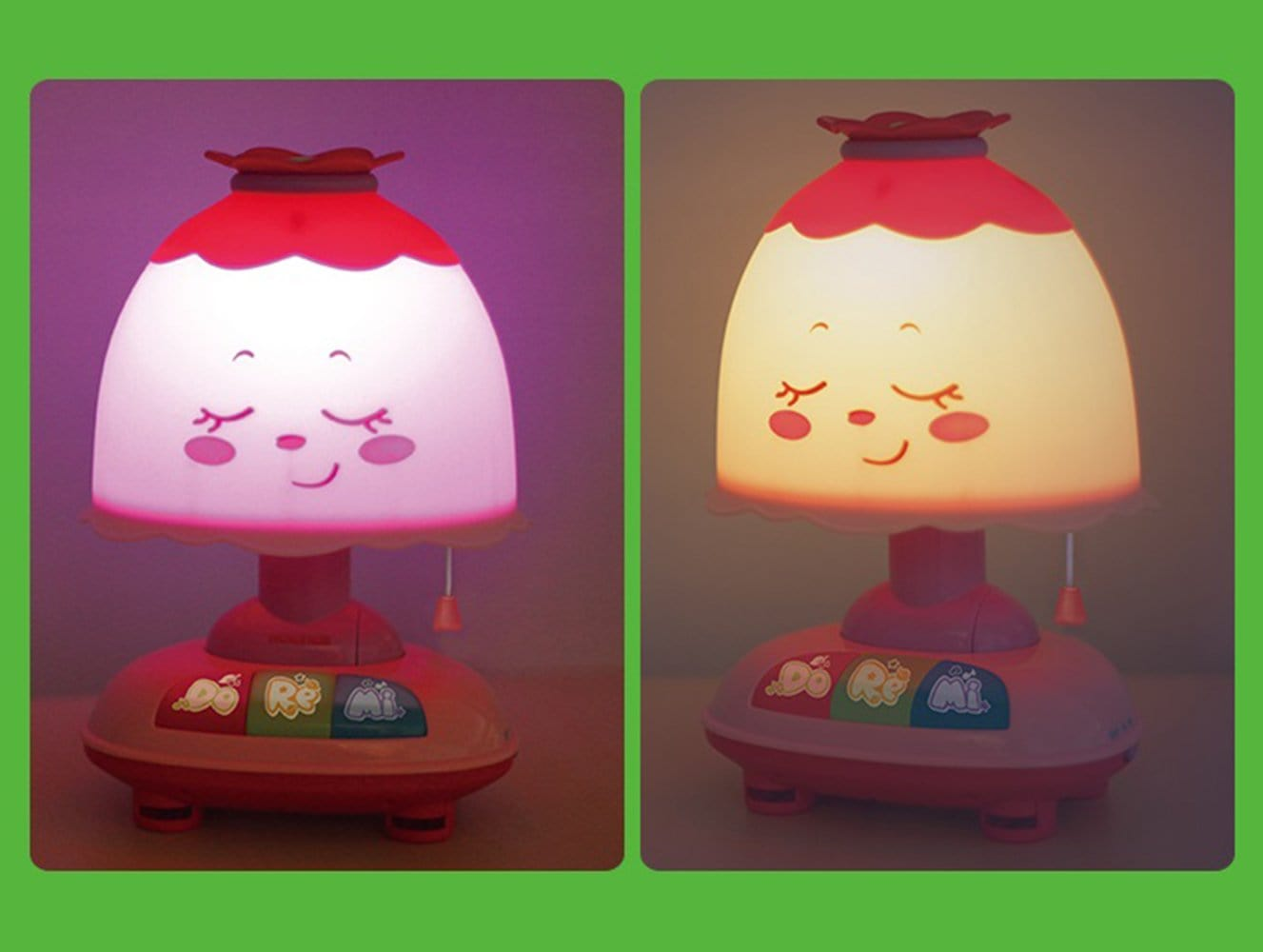 Hola Baby Night Light Lamp With Music Snapzapp