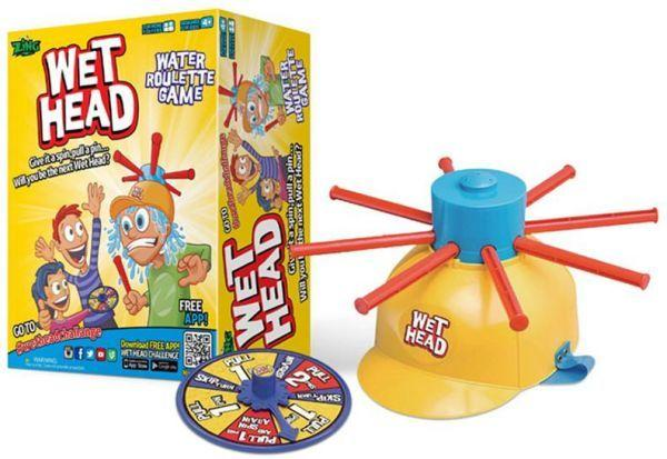 Wet Head Game Wet Hat water challenge Jokes roulette game kid toy
