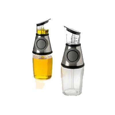 Press  Measure Oil and Vinegar Dispenser