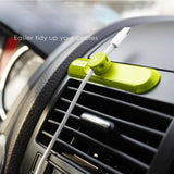 Magnetic USB Cable Clip Desk Tidy Organiser Wire Lead USB Cable Holder