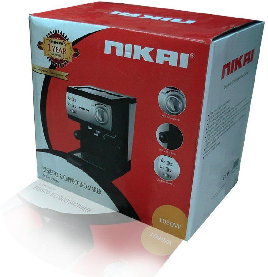 Nikai Expresso & Cappuccino Maker with Cup Warmer