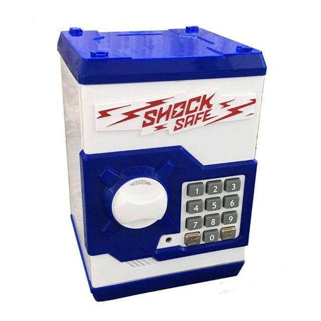 Cool ATM Bank Money Saving Box Shock Safe Coin Bank - SquareDubai