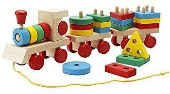 Shape train Classic Wooden Toddler Toy