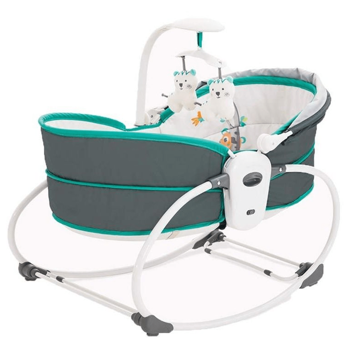 LITTLE ANGEL Automatic Rocking Chairs Baby Cradle
