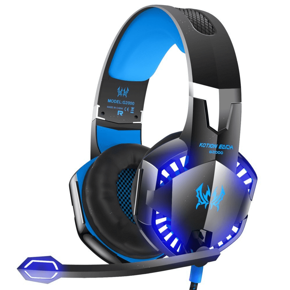 KOTION EACH G2000 Stereo Gaming Headset for Xbox one PS4 PC with Noise Cancelling Mic