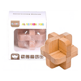 Educational Toys Interesting Unlock Wooden Puzzle AB8546 - SquareDubai