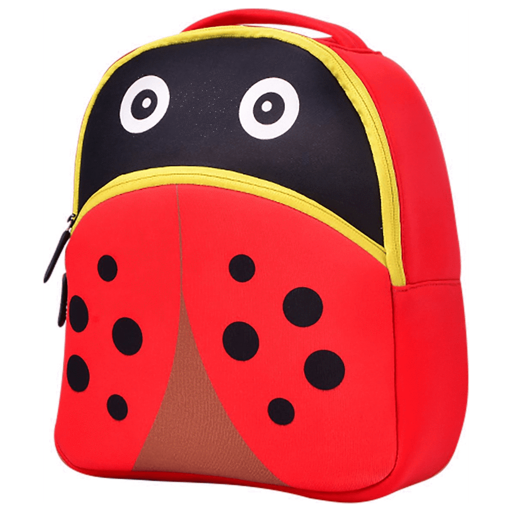 Cute Beetle School Bag Kindergarten Backpack - SquareDubai