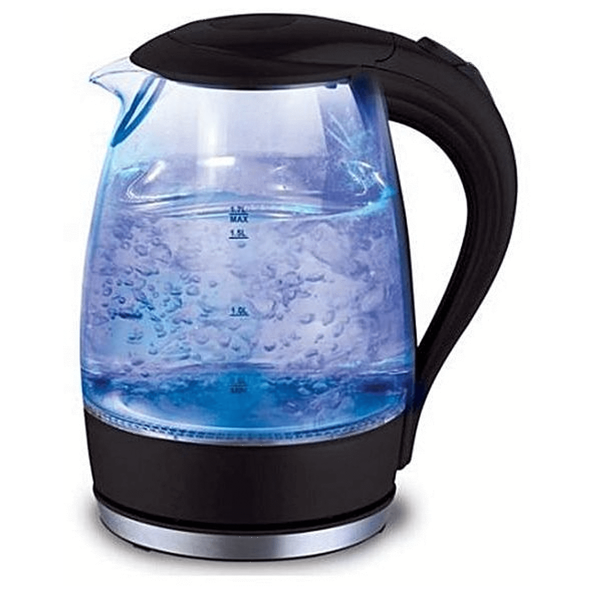 Sokany Electric Kettle 2200 Watt - 1.7 Liter, Black
