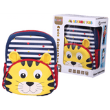Cute Cheetah School Bag Kindergarten Backpack - SquareDubai