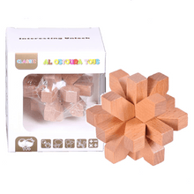 Load image into Gallery viewer, WOODEN Educational Toys Interesting Unlock Wooden AB405
