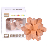 WOODEN Educational Toys Interesting Unlock Wooden AB405