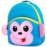 Cute Monkey School Bag Kindergarten Backpack - SquareDubai