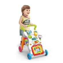 Load image into Gallery viewer, First Steps Baby Activity Walker Music Walker - SquareDubai