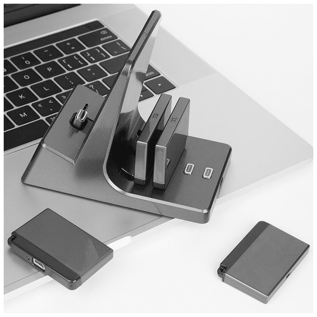 Desk Power Bank - Magnetic USB Charger Dock