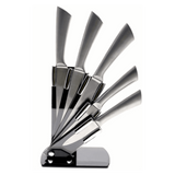 6 Pcs Stainless Steel Knives Set with Stand - SnapZapp
