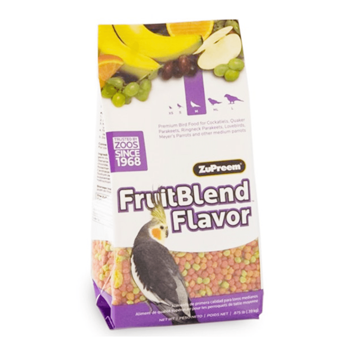Fruit Blend Flavour For Medium Sizel Birds 2LB