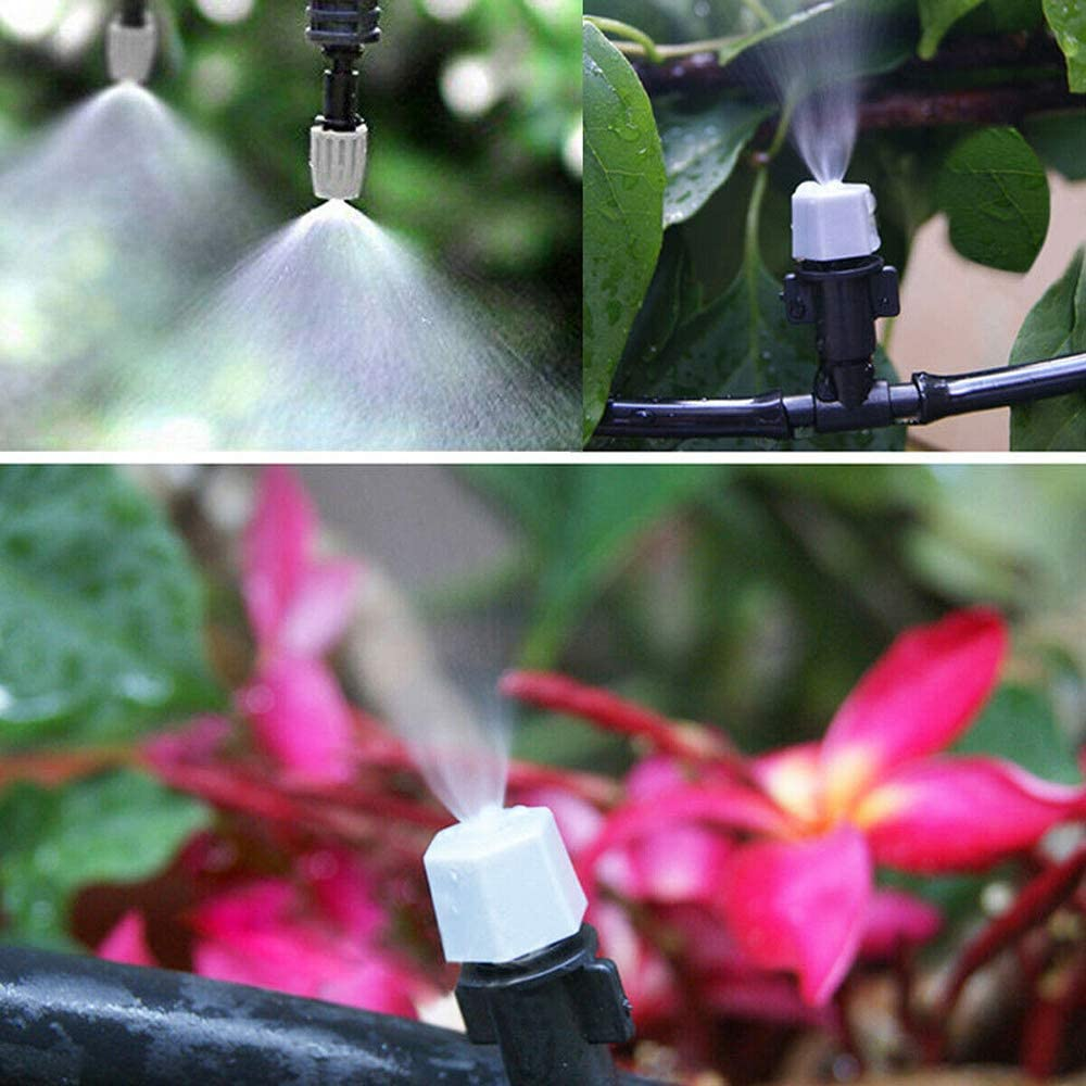 Patio Misting Kit Assembly - 1/4 Inch Misting Line 5 Minute Installation