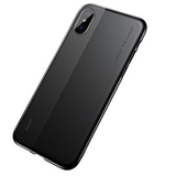 Baseus Half to Half Case for iPhone X with Screen Protector - - SquareDubai