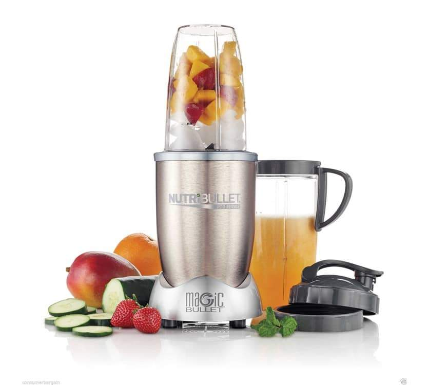 NutriBullet Pro 900 Series 9-Piece Set Nutrition Extractor (900 W)