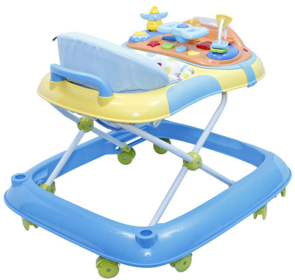 Little Angel GF-W30012 Baby Walker, Blue and Yellow