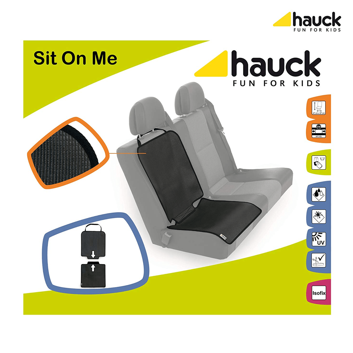 Hauck Sit on Me Car Seat Cover