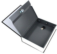 Load image into Gallery viewer, Dictionary Book Safe Security Cash Money Box with key lock - SquareDubai