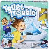 Toilet Trouble Game Washroom Tricky Toys Party Board Game