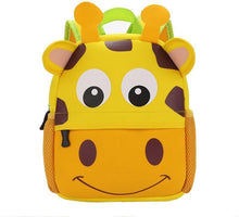 Load image into Gallery viewer, Cute School Bag Kindergarten Backpack Animal Neoprene Multicolor - SquareDubai