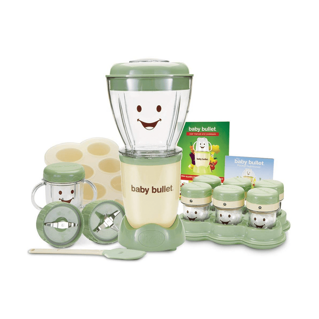 Baby Bullet Blender 22pc Set - 200w - SquareDubai