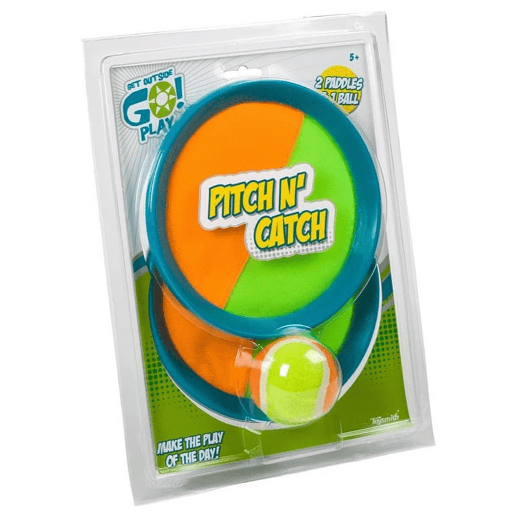Toysmith Pitch N' Catch Paddle Game