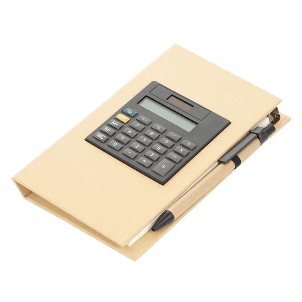 RM-832 Memo Pad Organizer with Calculator