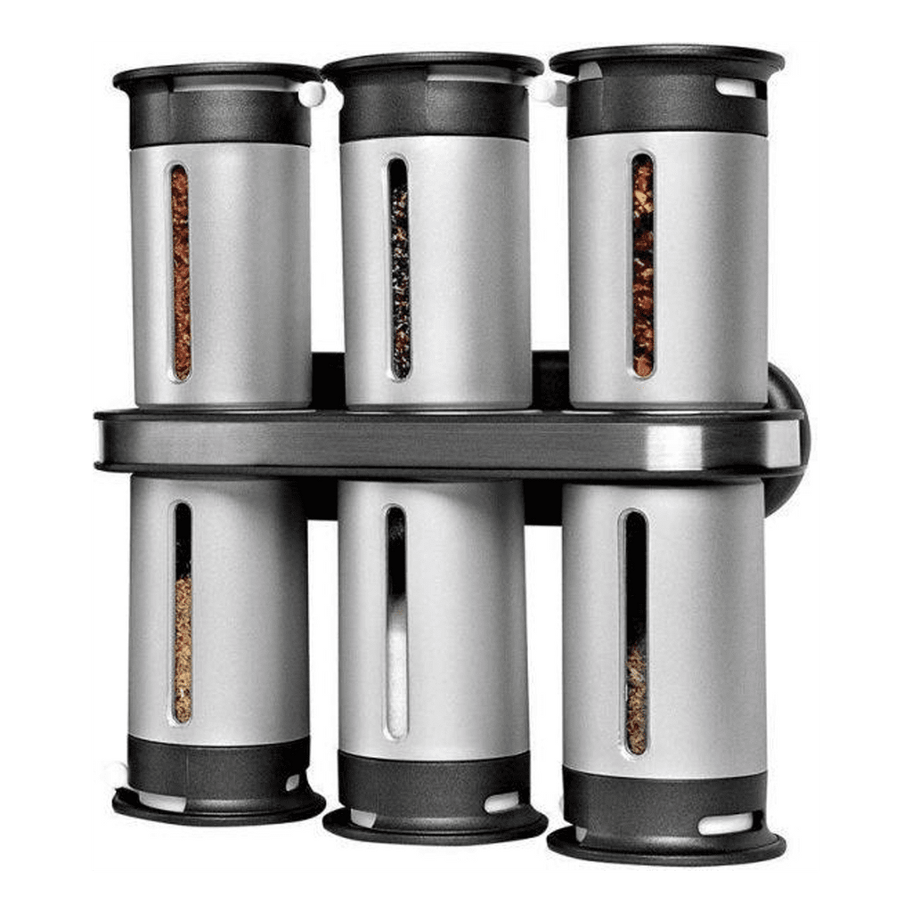 Zero Gravity Wall Mount Magnetic Spice Rack