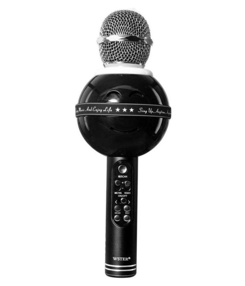 WSTER Wireless Handheld Karaoke Microphone WS878