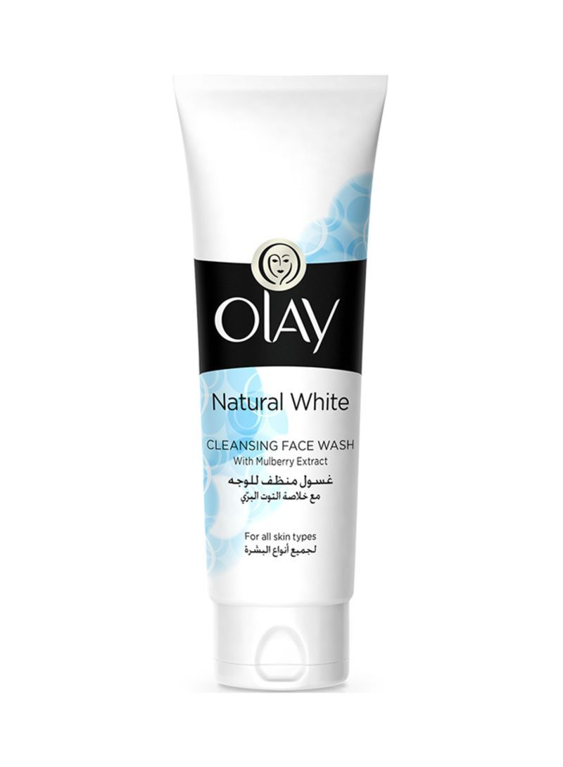 Olay Natural White Cleansing Face Wash For All Skin Types 100 ml