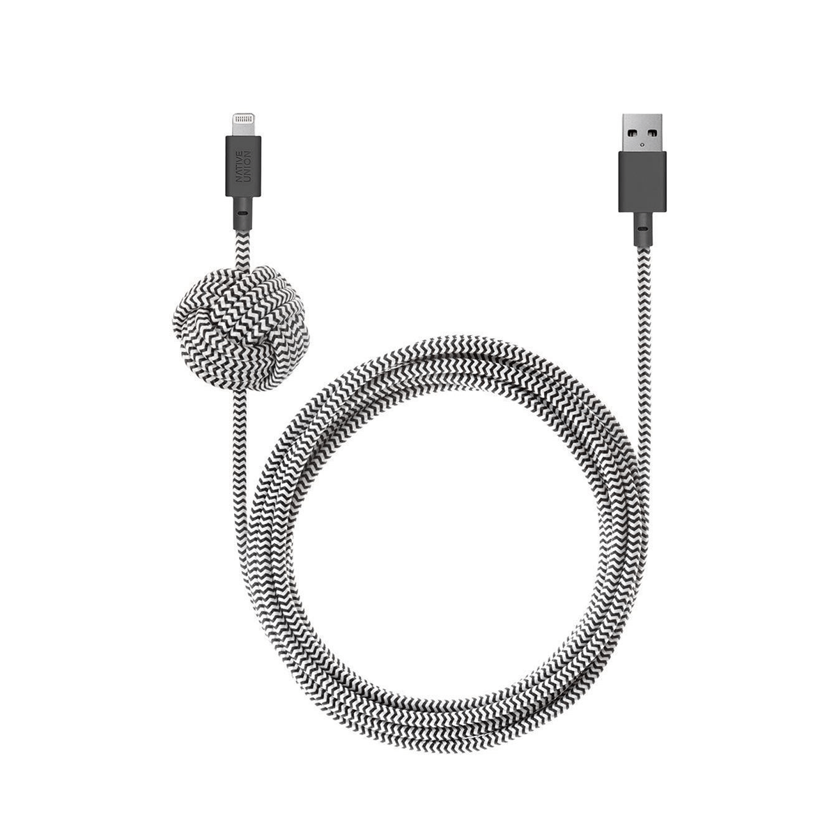 Knotted Lightning apple cable