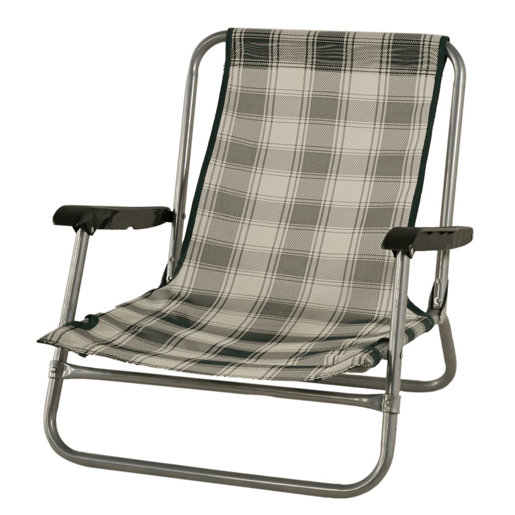 Beach Chair in Hunter Green 52 x 54 x 56cm - SquareDubai