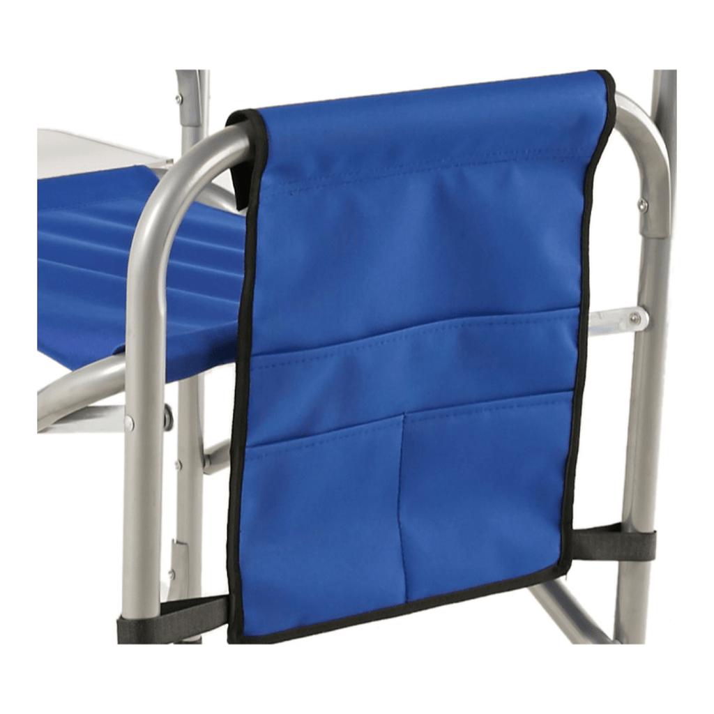 Aluminum Director's Chair (55x47x78cm, Blue) - SquareDubai