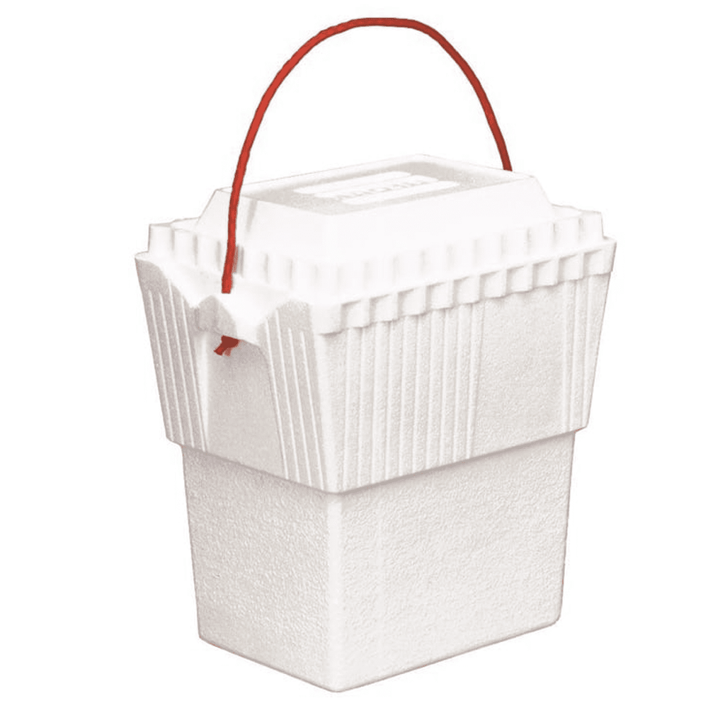 Styrofoam Ice Chest (White, 11.35 L)