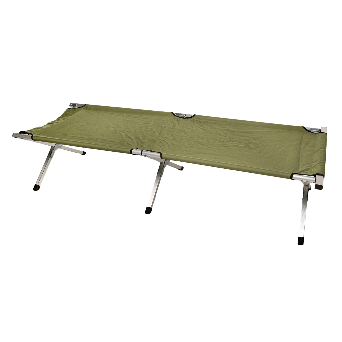 Camping Bed with Bag in Green 190 x 65 x 42cm