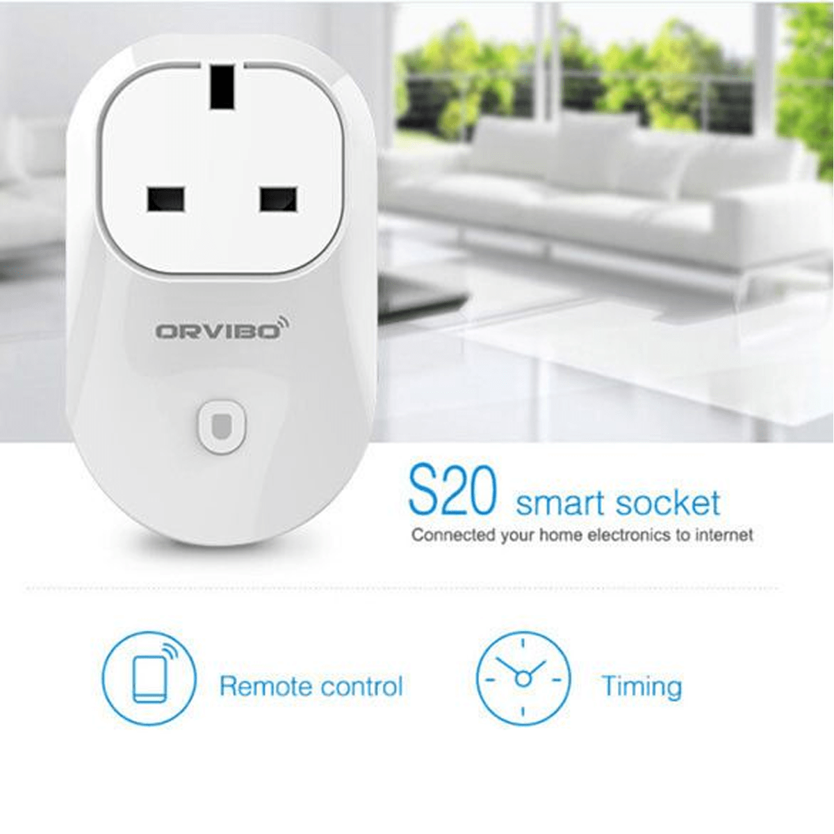 Orvibo Smart Wifi Plug  Home Automation