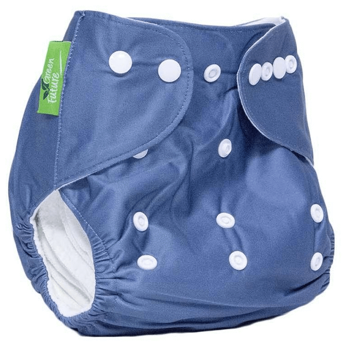 Green Future Baby Reusable & Adjustable Diaper With 2 Nappy