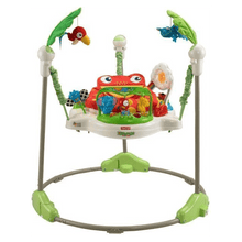 Load image into Gallery viewer, Rainforest Jumperoo Walker (Green and White, K7198)